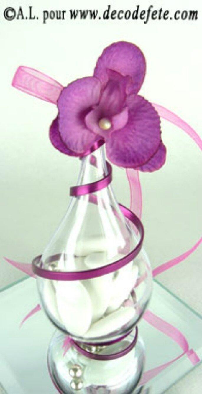 Jouez avec les contenants de vos dragées de mariage ! - Photo : decodefete.com