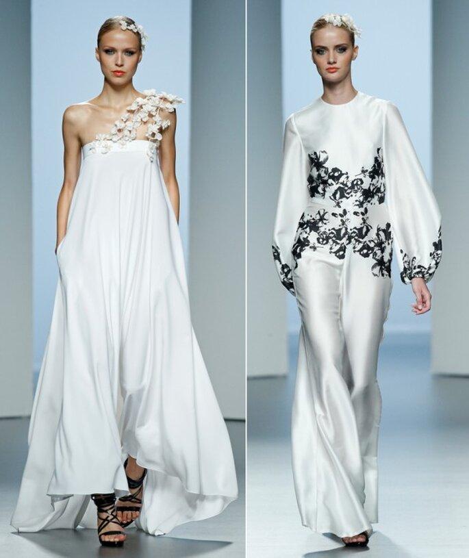 Vestidos de novia 2015 desde la semana de la moda de Madrid - Foto Juana Martín