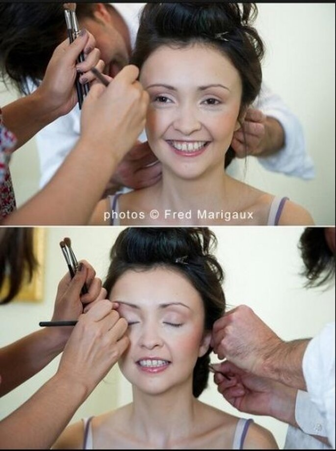 Maquillaje para novia. Foto de Fred Merigaux©