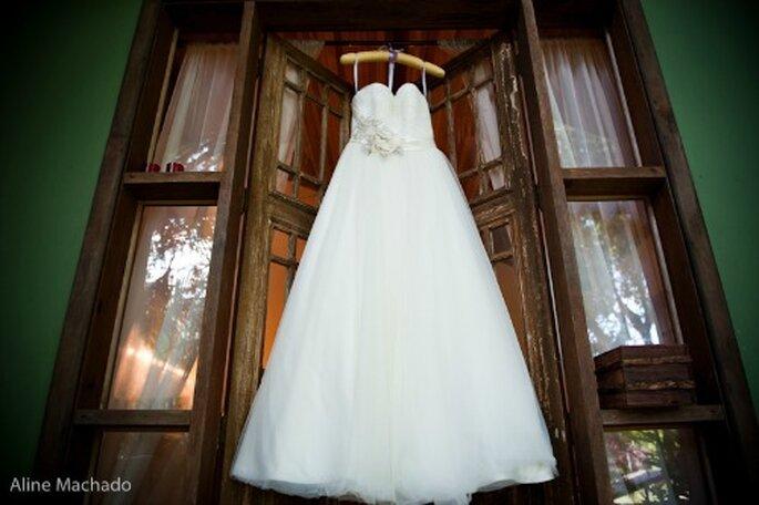 Imaginer sa robe de mariée : quoi de plus mythique ? - Photo : Aline Machado