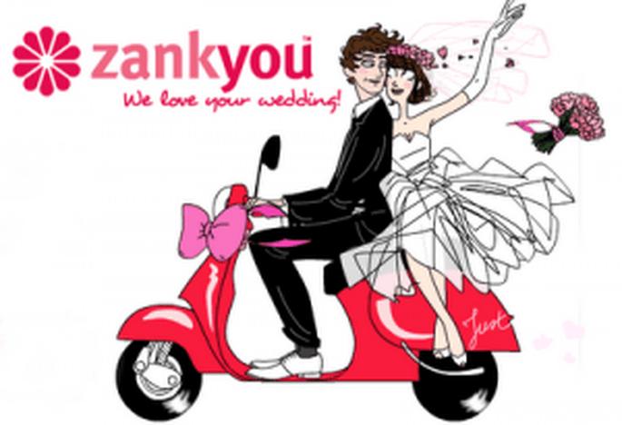 Zankyou ofrece una web gratis a los novios