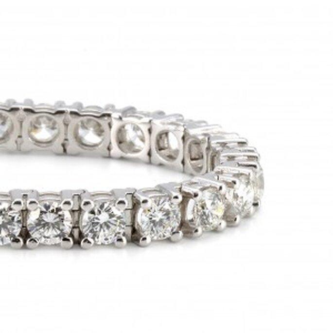 Pulsera compromiso - Rivière Diamantes de 4 grapas de Diamantísimo
