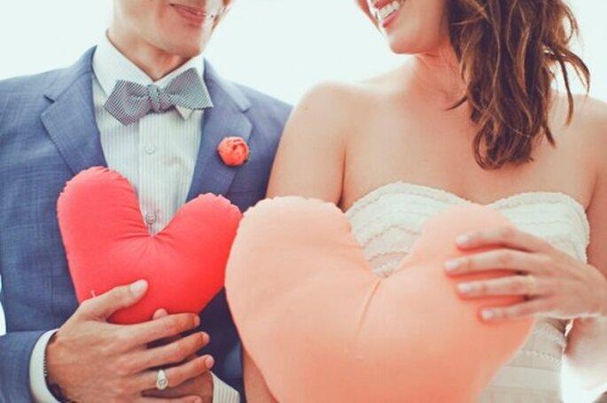 Cómo proponer matrimonio el día de San Valentín - Foto Our Labor of Love en Bridal Musings