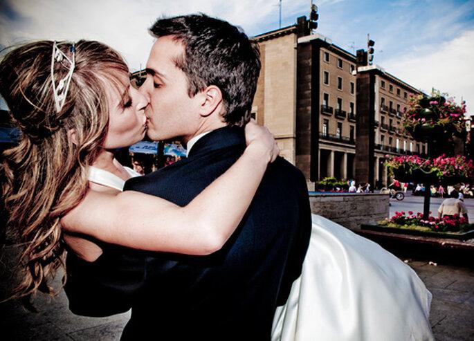 Fotos frescas y naturales en tu álbum de boda. Foto: Punto de Vista