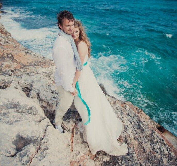 Lo mas importante para organizar una boda en la playa - Foto Nadia Meli