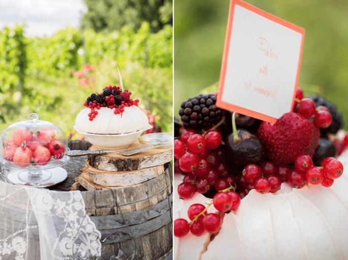 4 Tendencias en pasteles de boda 2014. Fotografìa Anoushka Rokebrand