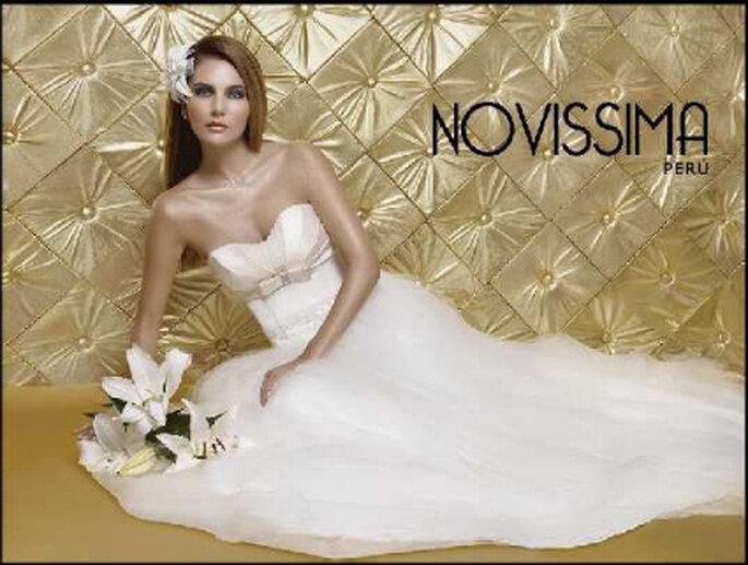 NOVISSIMA PERÚ (vestido de Claudia Alonso)