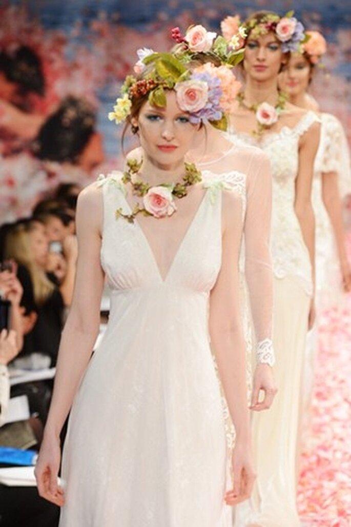 Brautkleider von Claire Pettibone für Herbst/Winter 2013 –Foto: Claire Pettibone
