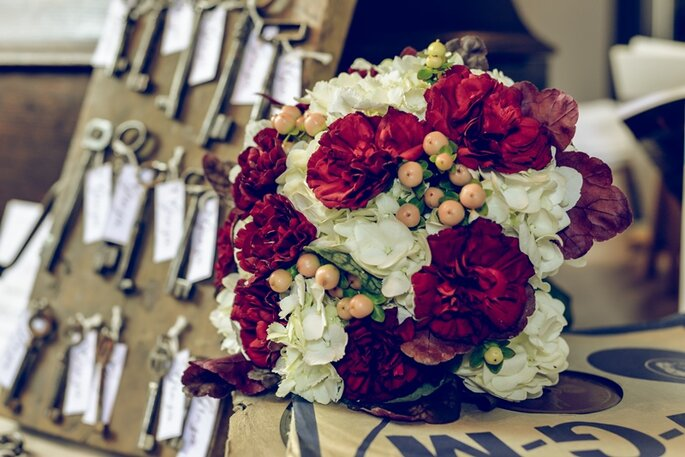 Floral design: Floricoltura Tonini - Foto via Oui Darling