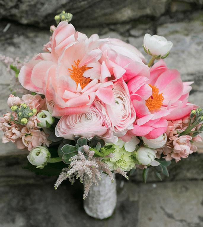 Formes rondes avec liens classes pour un bouquet 2013 - Photo Captured Photography