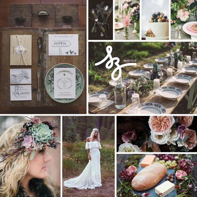 Folklor y cálido romanticismo: La inspiración idónea para una boda ...