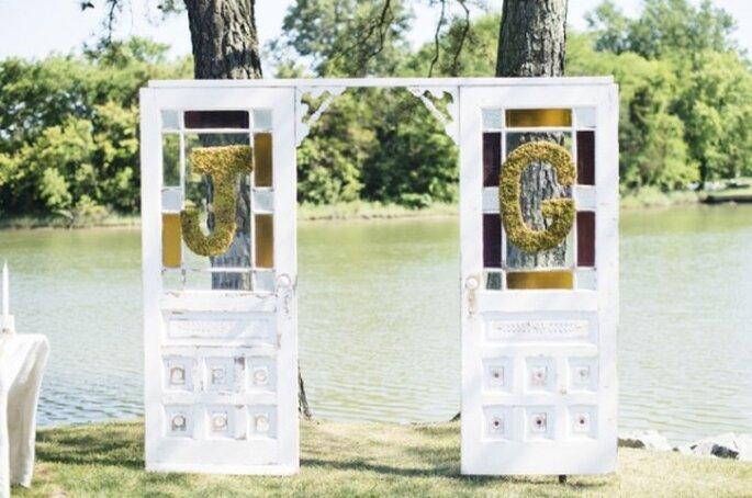 Los altares de boda más lindos para la ceremonia religiosa - Natalie Franke Photography
