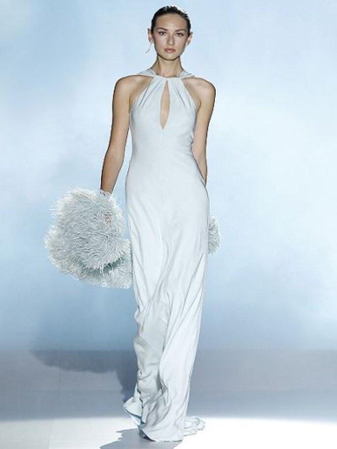 zarte Farben für das Hochzeitskleid  Rosa Clara - Foto Ugo Camera