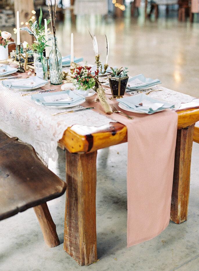 Mesas de madera 2016 - Lauren Peele