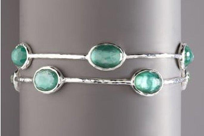 pulsera de Neimann Marcus con esmeraldas