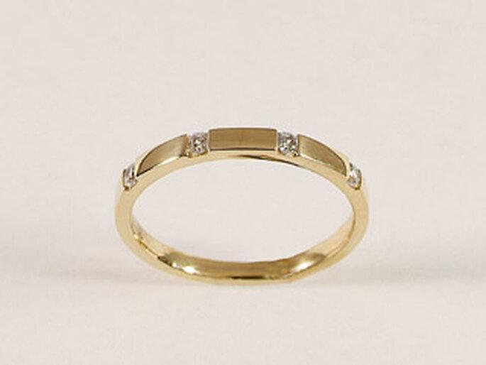 Alliance Ruban diamants - 1000-alliances.com