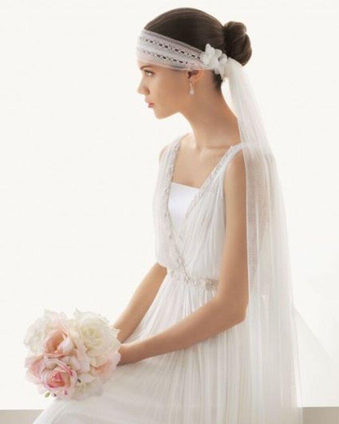 Velo de novia de Rosa Clará similar al utilizado por Anne Hathaway - Foto Rosa Clará