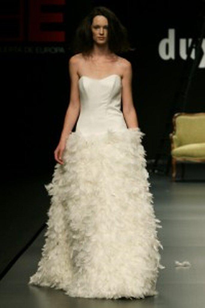 Robe de mariée Juan Duyos 2009 bustier et jupe bouffante