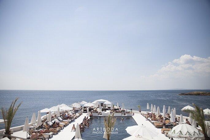 puro beach art boda