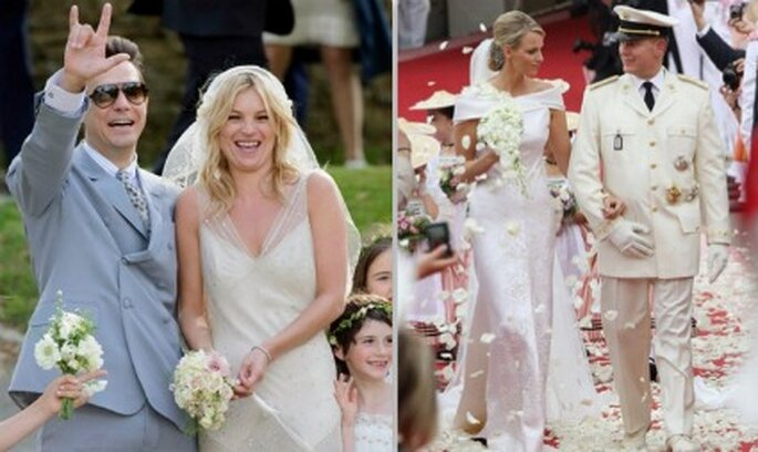 Cherlene e Kate due spose, due abiti