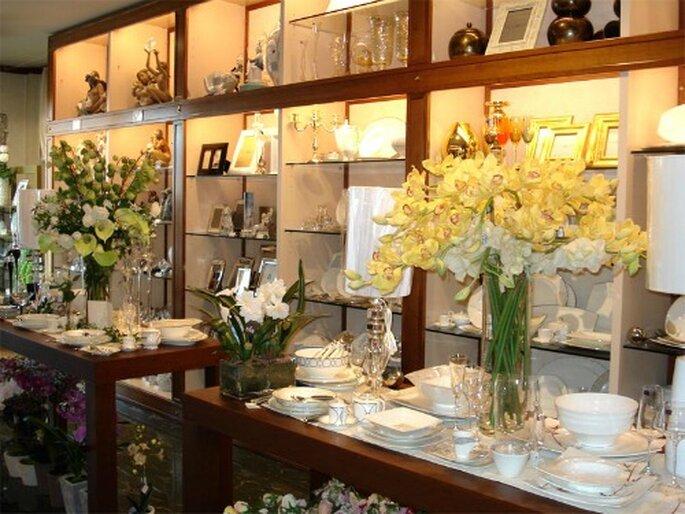Chi non ha convissuto prima del matrimonio opta ancora spesso per la classica lista nozze nel negozio di casalinghi. Foto www.taglia.tv