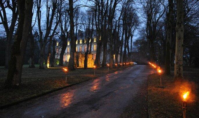 Mariage en hiver : on mise sur les éclairages - Crédit photo : 100% photos