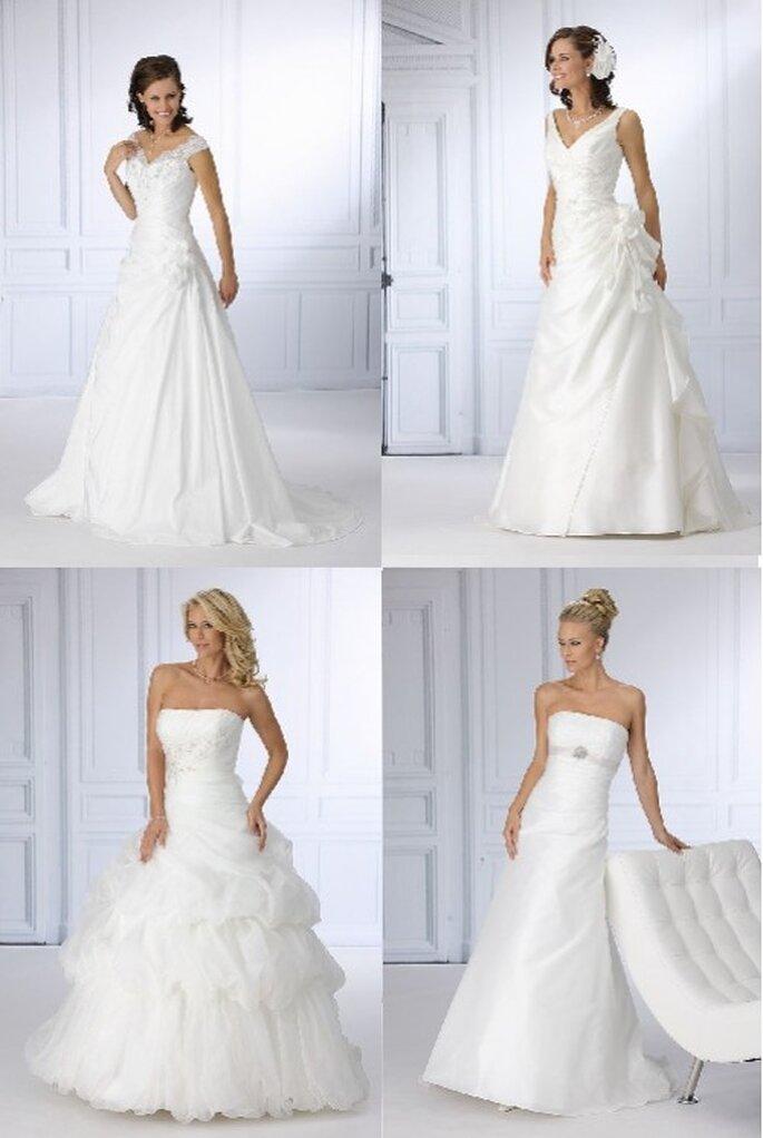Très Chic Brautkleider aus der Kollektion 2012 - Romantic Bride