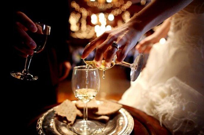 Bebidas y cócteles para tu boda. Foto de Wirken Photography