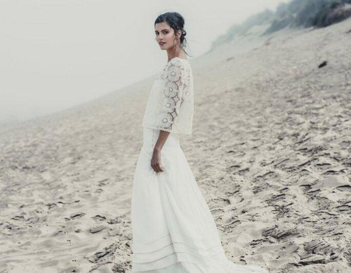 robe de marie laure de sagazan espace maria luisa mariage du printemps haussmann - Printemps Haussmann Mariage