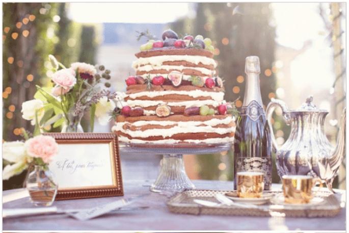 Pasteles de boda multicolor para 2014 - Foto Half Orange Photography