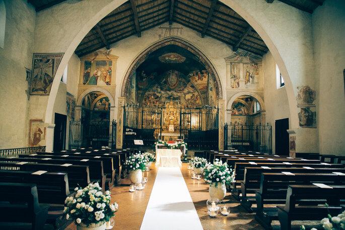 Addobbi Floreali nella Chiesa di San Michele al Pozzo Bianco: Alberto Menegardi