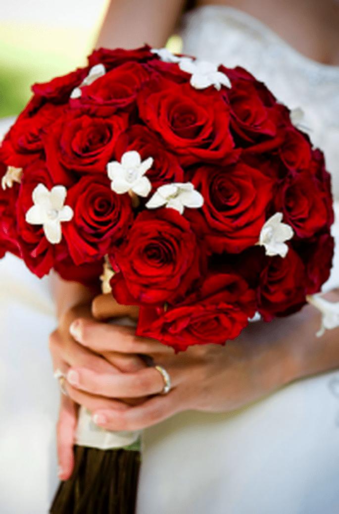 Un romantico bouquet misto