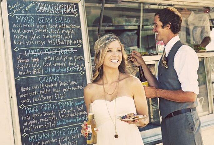 street food per le nozze