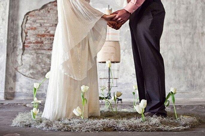 Un 'elopement' es un día para dos. Foto: Leah Lee Photography.