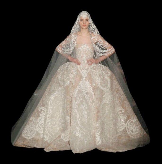 Abito da sposa Elie Saab Haute Couture SS 2013. Foto: www.eliesaab.com