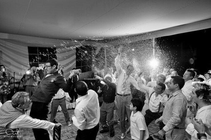 No tengan miedo y diviértanse en la pista de baile - Foto Arturo Ayala