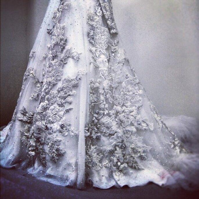 Detalle de vestidos  de novia en Instagram - Foto @Julienabboud
