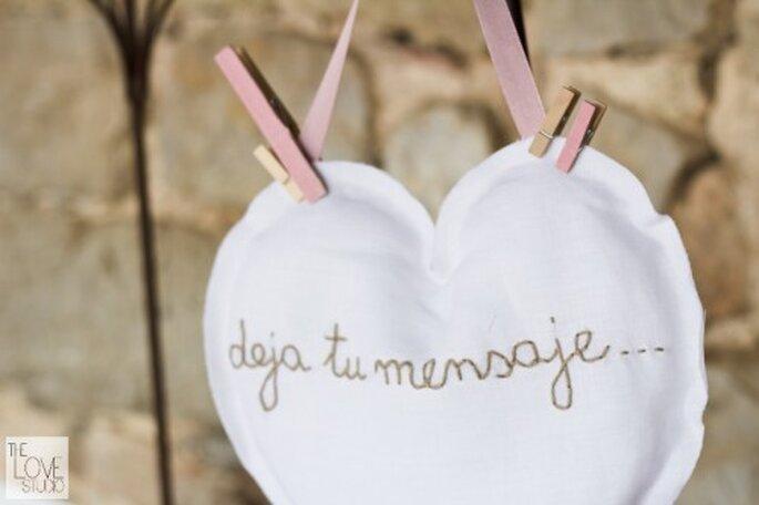 Detalles para boda. Foto de The Love Studio.