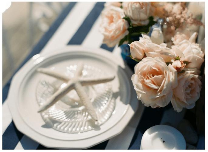 Una decoración con rayas en tu boda - Foto Alea Lovely Photography