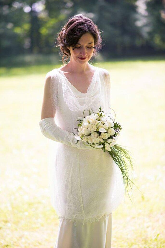 Robe de mariée, Étoffes et Silhouettes