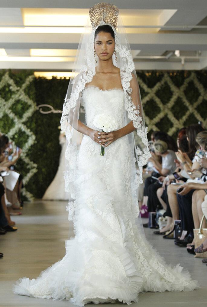 Dramatische Brautkleider gibt es von Oscar de la Renta – Foto: Oscar de la Renta