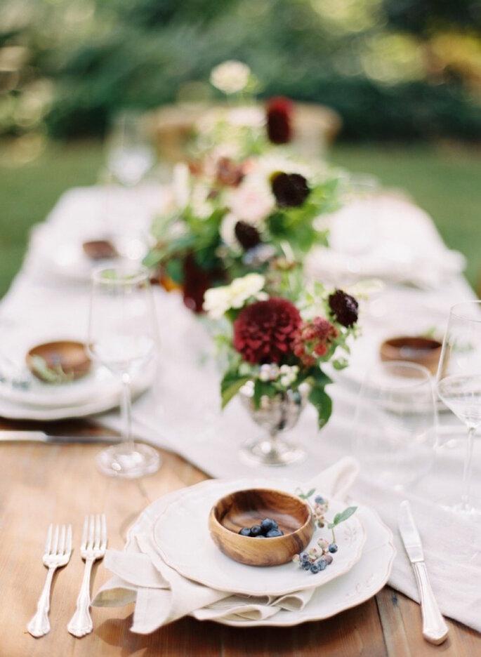 Inspiracion boda rustica - Como decorar una lapida ...
