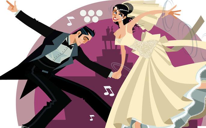 Baila con tu pareja la música que más les guste