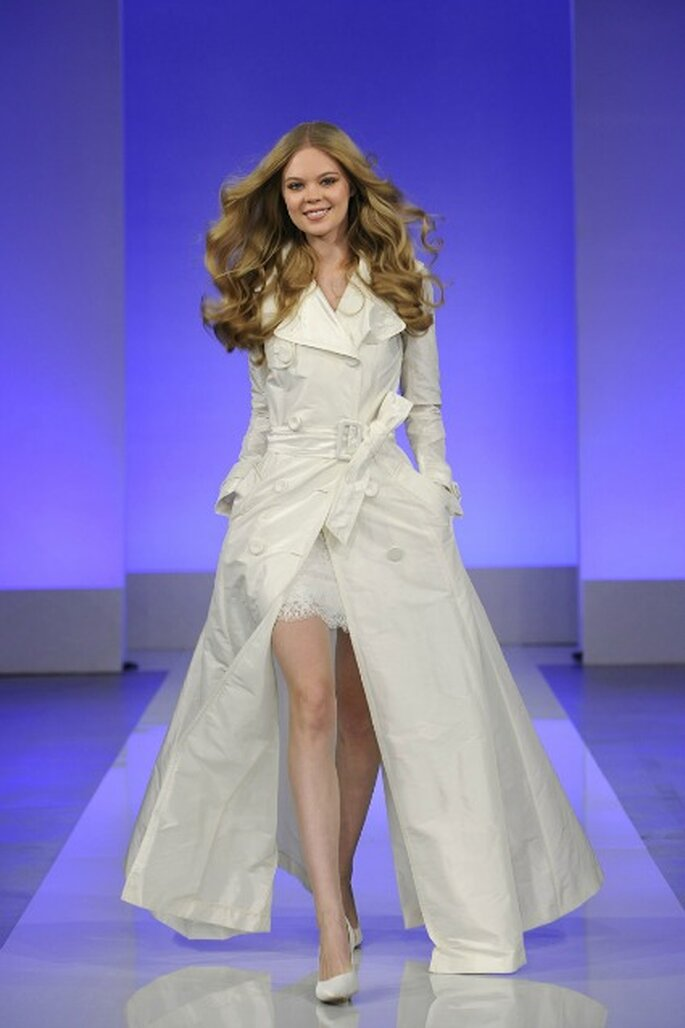 Robe de mariée courte Cymbeline 2013 - Photo : Cymbeline
