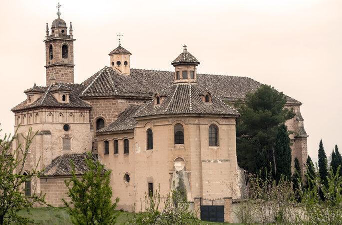 Monasterio de la Cartuja en Granada. Foto Dulce Rubia