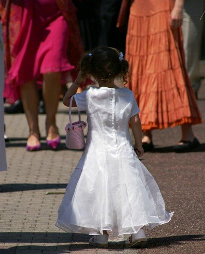 Le cortège d'enfants d'honneur fait toujours sensation ! Photo : Ceremonize