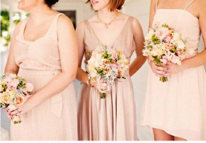 Pink Hochzeit - Foto: 100layercake.com