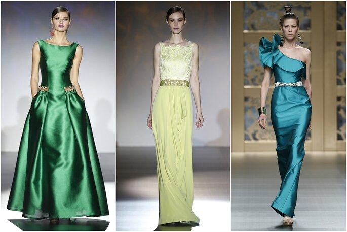 Modelos: Patricia Avendaño e Carla Ruiz | Fotos: Barcelona Bridal Week