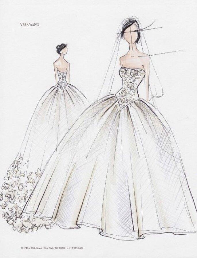 inspírate! espectaculares bocetos de vestidos de novia y de fiesta