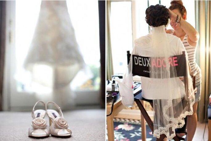 Imagen personal para tu boda. Foto de Jen Lynne.